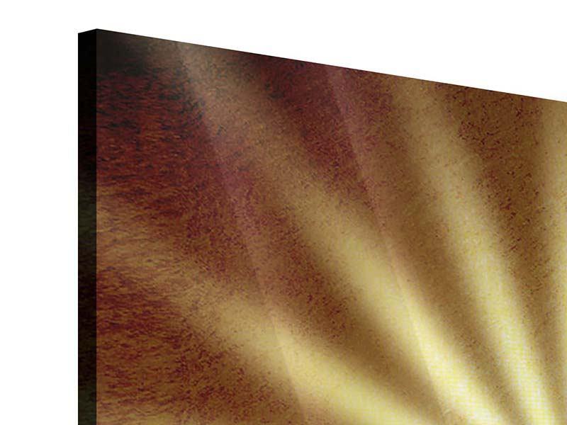 Acrylglasbild 9-teilig Abstrakte Sonnenstrahlen