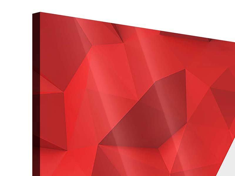Acrylglasbild 9-teilig 3D-Stern