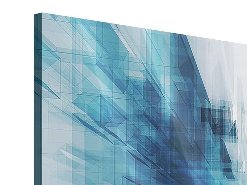 Acrylglasbild 9-teilig Abstrakte Raumerweiterung
