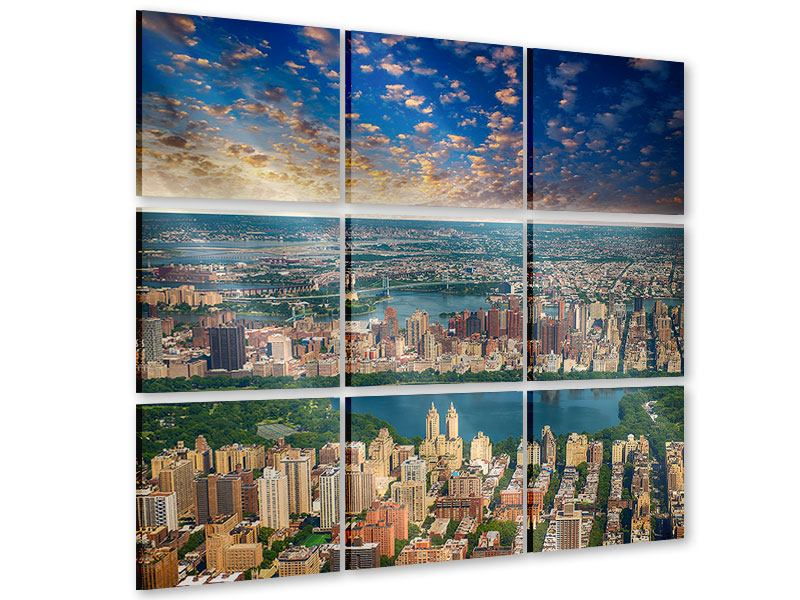Acrylglasbild 9-teilig New York