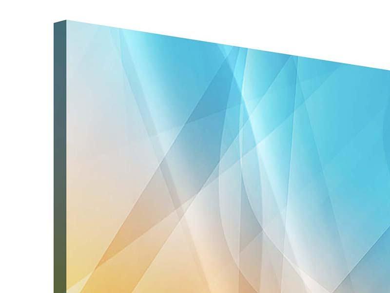 Acrylglasbild 9-teilig Abstrakte Fliessende Farben