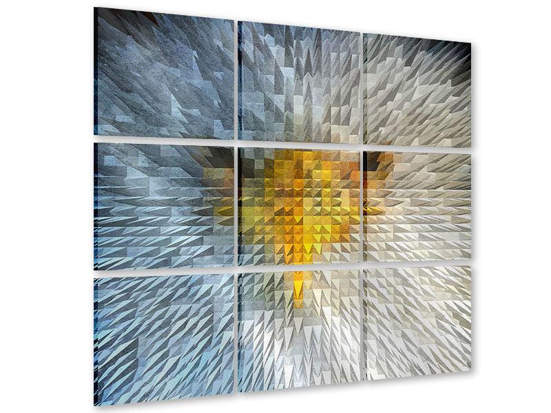 Acrylglasbild 9-teilig Adler