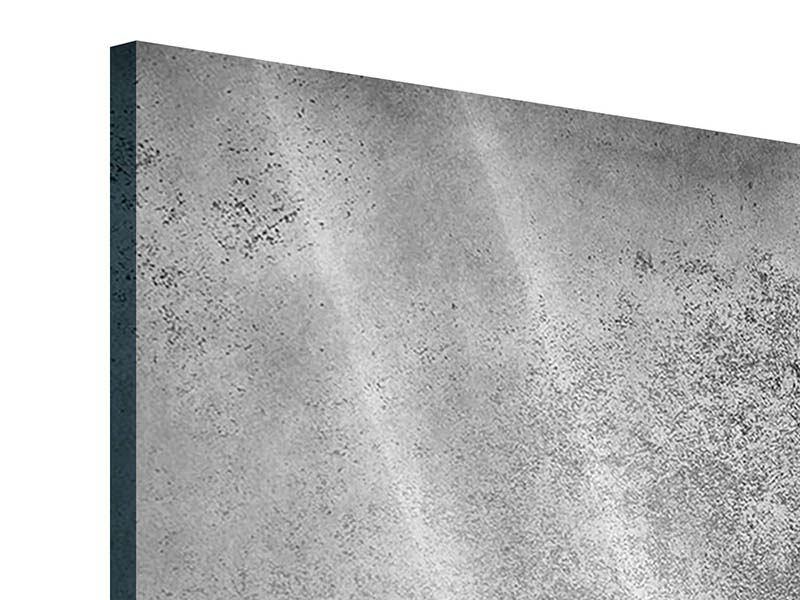 Acrylglasbild 9-teilig Graue Wandschattierungen