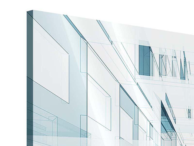 Acrylglasbild 9-teilig Raum der Räume