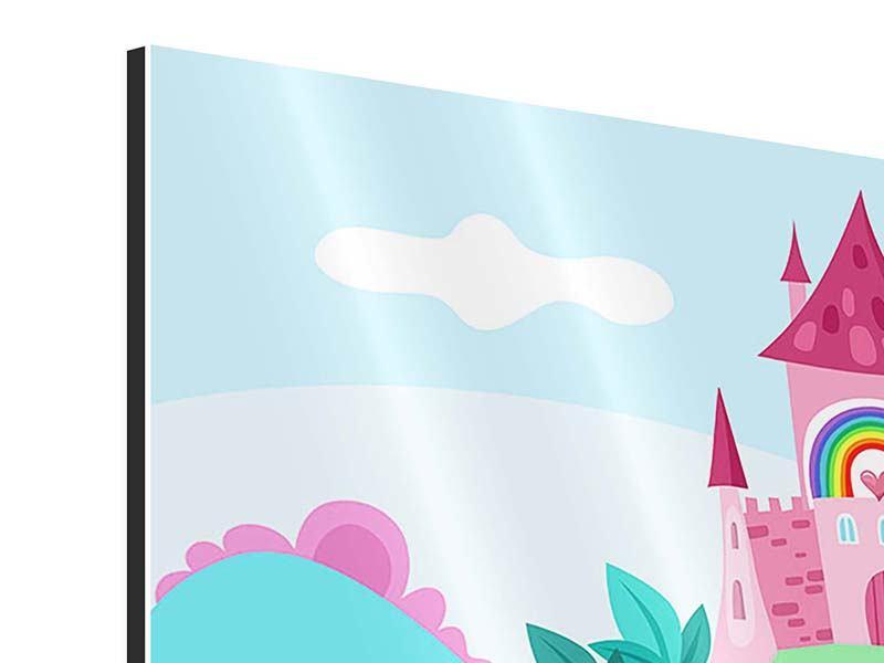 Aluminiumbild Panorama Prinzessinnentraum