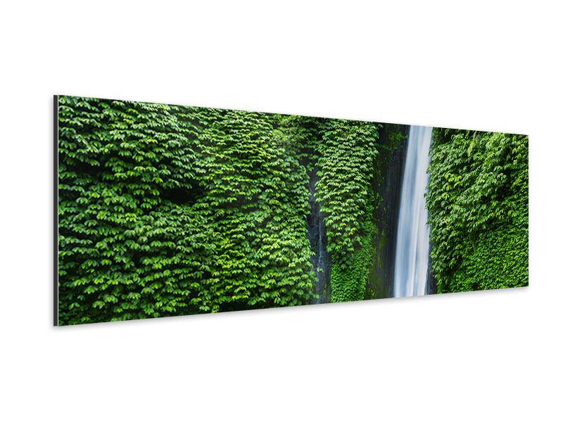 Aluminiumbild Panorama Lebensquelle