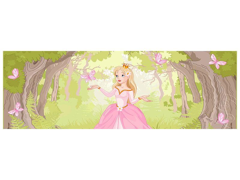 Aluminiumbild Panorama Princess