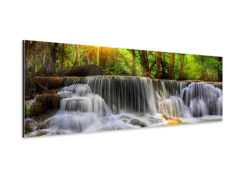 Aluminiumbild Panorama Nationalpark Si Nakharin
