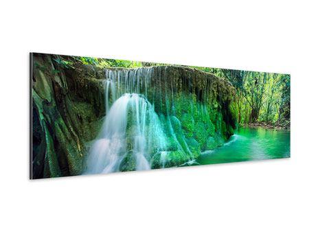 Aluminiumbild Panorama Im Paradies