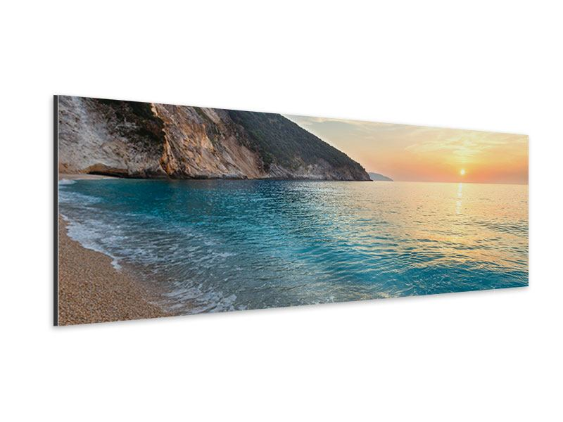 Aluminiumbild Panorama Felsen
