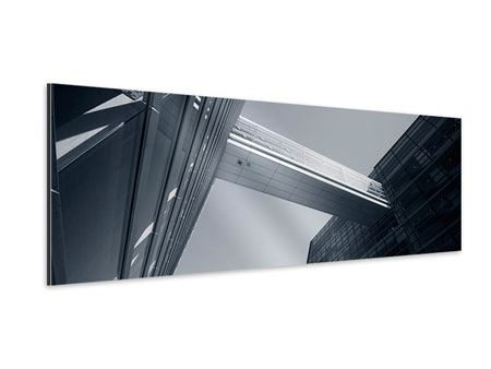 Aluminiumbild Panorama Der schwarze Diamant Kopenhagens