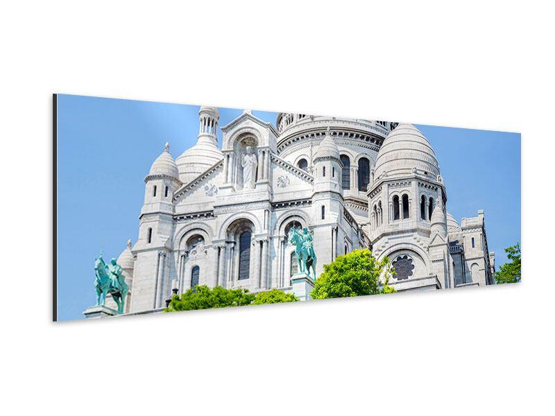 Aluminiumbild Panorama Paris- Montmartre