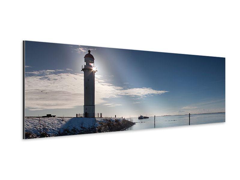 Aluminiumbild Panorama Sailing