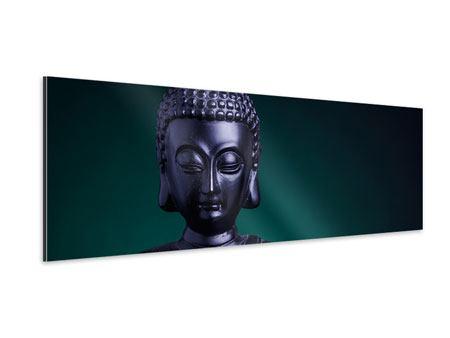 Aluminiumbild Panorama Die Weisheit des Buddhas