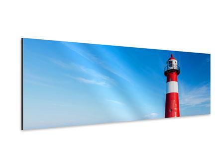Aluminiumbild Panorama Der Leuchtturm