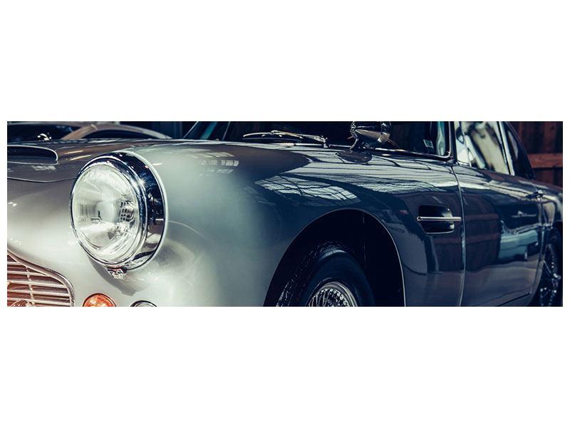 Aluminiumbild Panorama Classic Car