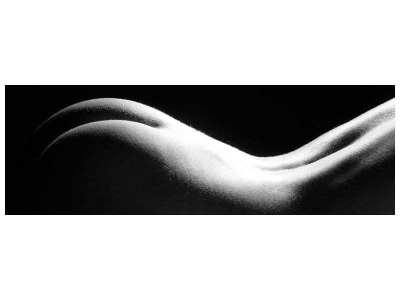 Aluminiumbild Panorama Nude