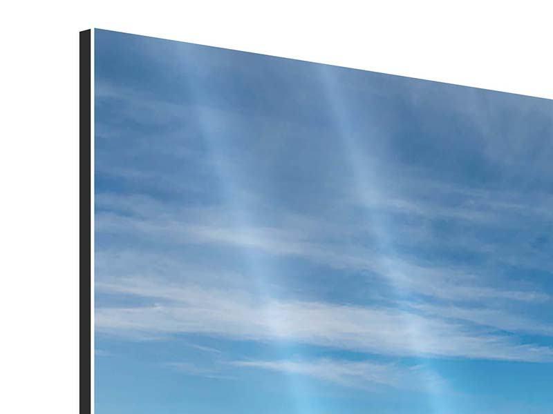 Aluminiumbild Panorama Warten auf die Arche Noah