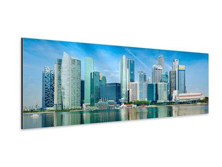 Aluminiumbild Panorama Skyline Mexiko-Stadt