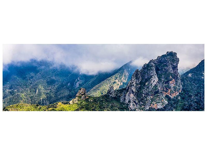 Aluminiumbild Panorama Der stille Berg