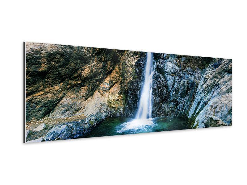 Aluminiumbild Panorama Bewegtes Wasser