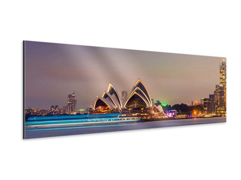 Aluminiumbild Panorama Opera House