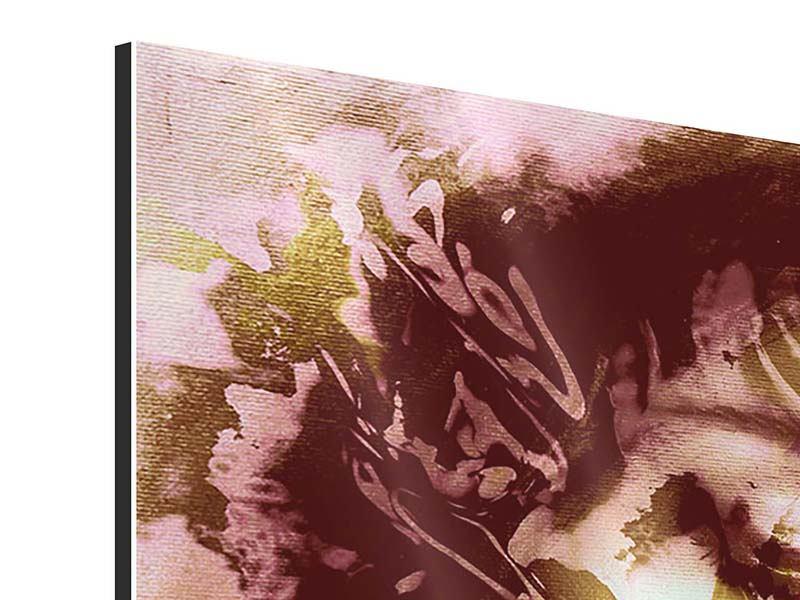 Aluminiumbild Panorama Romantisches Portrait einer Schönheit