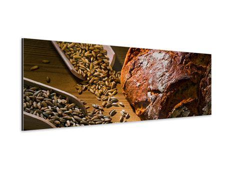 Aluminiumbild Panorama Das Brot