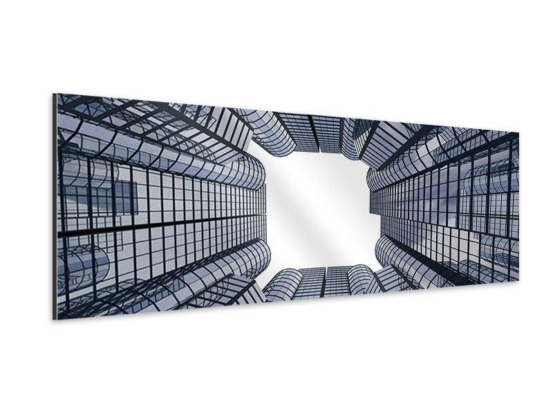 Aluminiumbild Panorama Besondere Perspektive