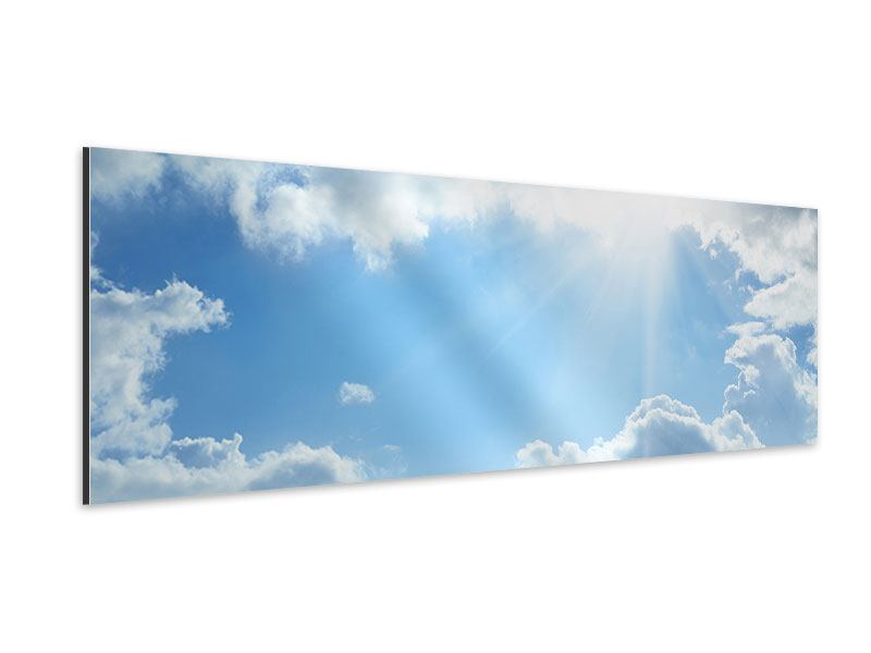 Aluminiumbild Panorama Himmelshoffnung