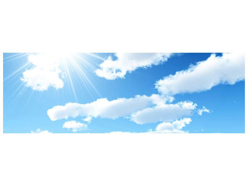 Aluminiumbild Panorama Am Himmel