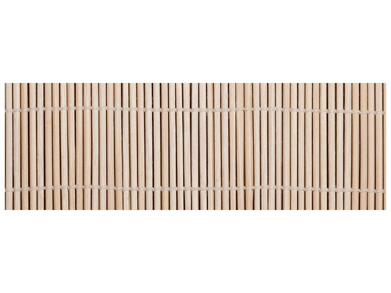 Aluminiumbild Panorama Lucky Bamboo