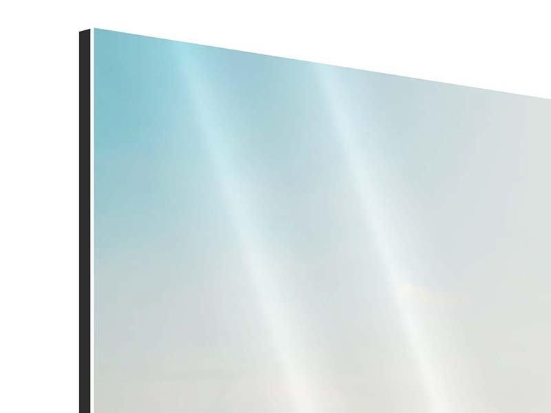 Aluminiumbild Panorama NYC