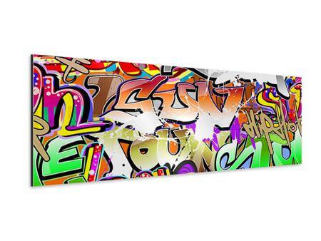 Aluminiumbild Panorama Writings