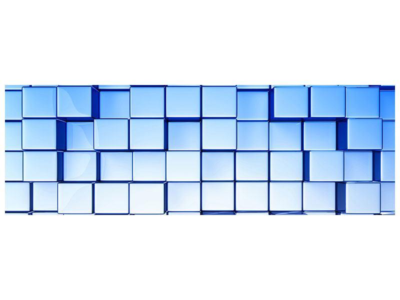 Aluminiumbild Panorama 3D-Symetrie