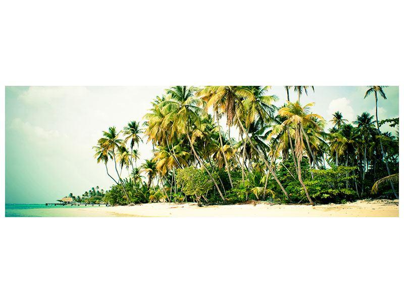 Aluminiumbild Panorama Tobago Cays