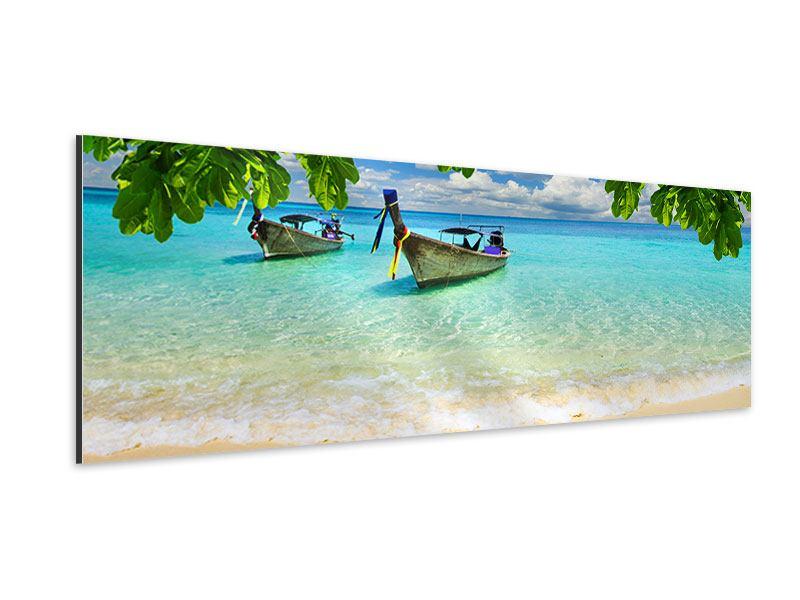 Aluminiumbild Panorama Ein Blick auf das Meer