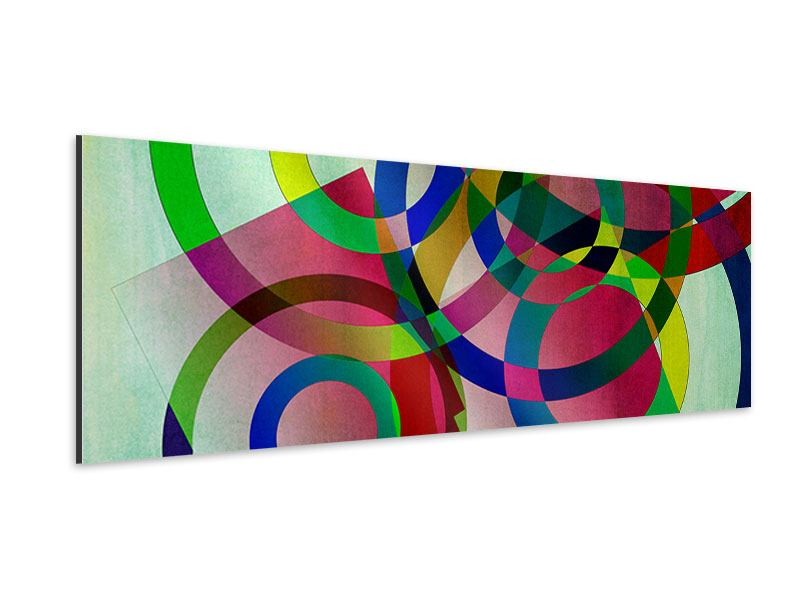 Aluminiumbild Panorama Wandkunst