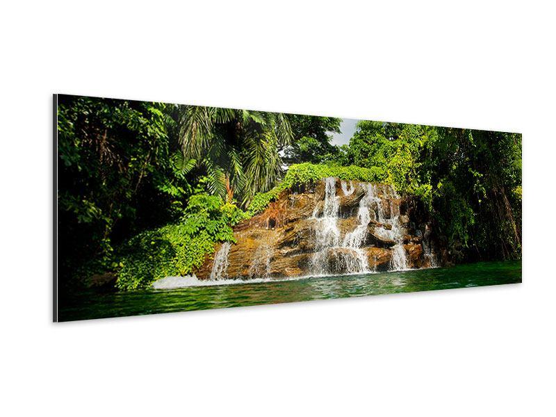 Aluminiumbild Panorama Lagune