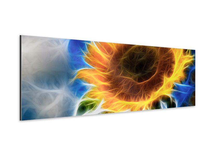 Aluminiumbild Panorama Der Sonne entgegen