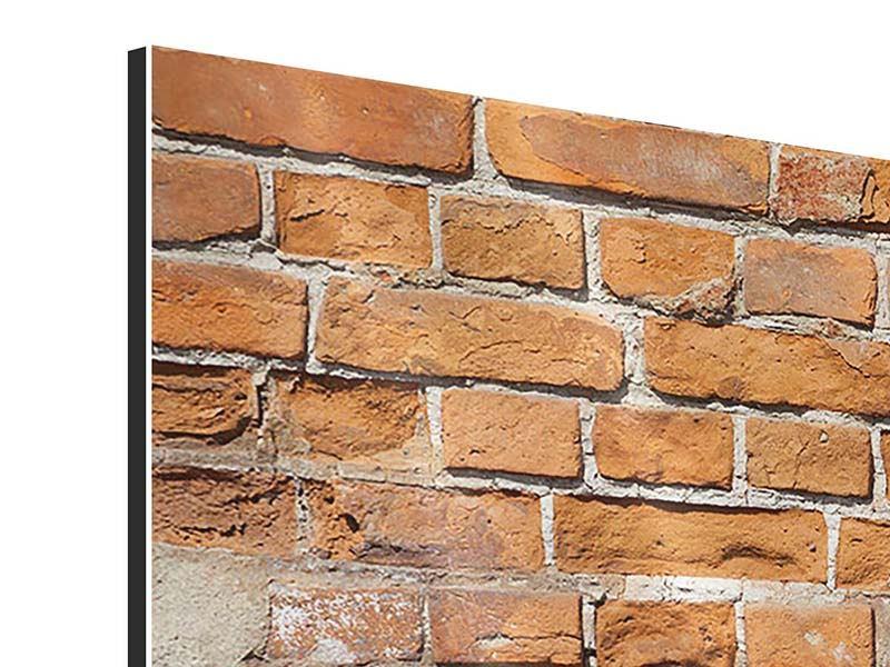 Aluminiumbild Panorama Alte Klagemauer