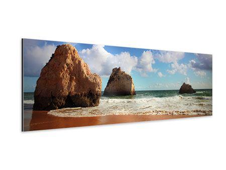 Aluminiumbild Panorama Strandgedanken
