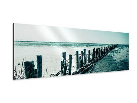 Aluminiumbild Panorama Das Wattenmeer