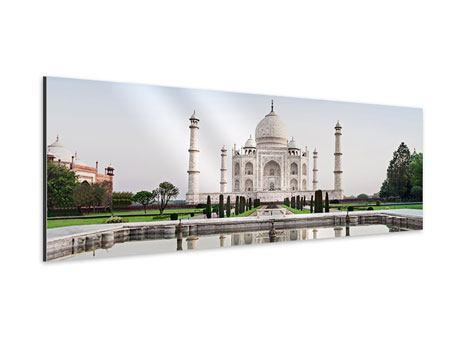Aluminiumbild Panorama Taj Mahal