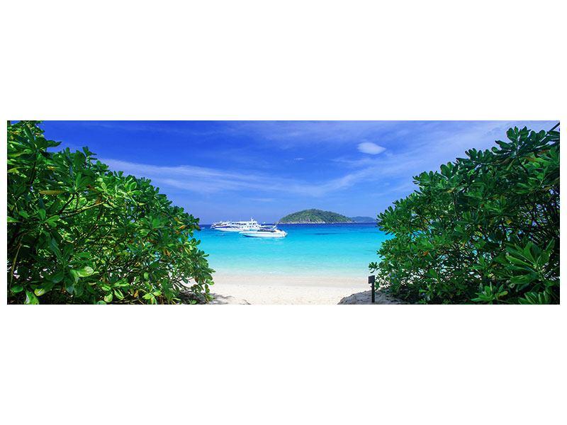 Aluminiumbild Panorama Similan-Inseln