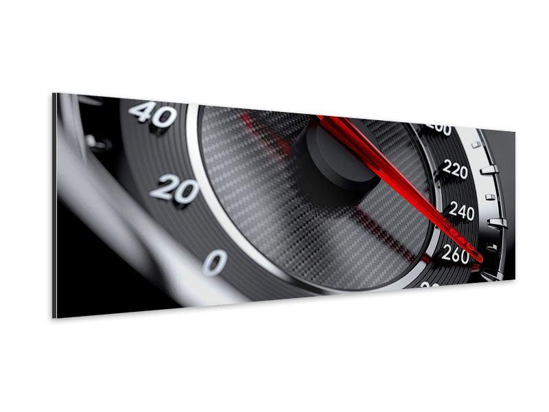 Aluminiumbild Panorama Geschwindigkeit