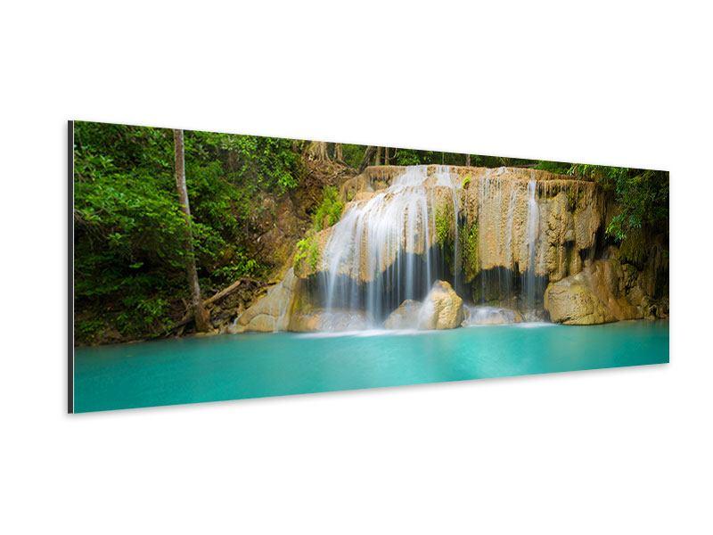 Aluminiumbild Panorama Frische Brise
