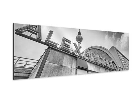 Aluminiumbild Panorama Alexanderplatz