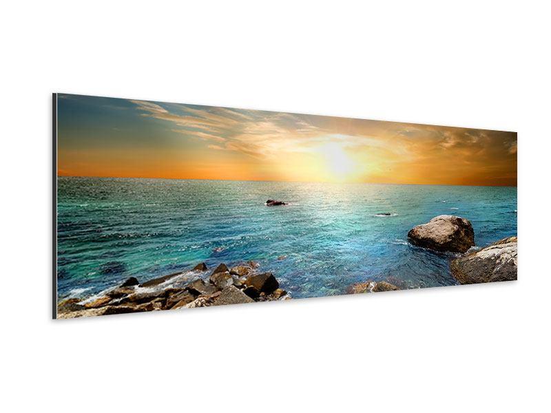Aluminiumbild Panorama Meerwasser