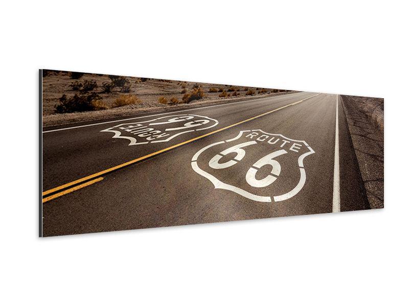 Aluminiumbild Panorama Route 66